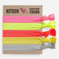 Kitsch 'Neopop' Hair Ties (5-Pack) | Nordstrom