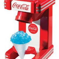 Amazon.com: Nostalgia Electrics Coca Cola Series RSM702COKE Single Snow Cone Maker: Kitchen & Dining