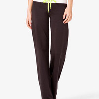 Relaxed Fit Colorblocked Workout Pants