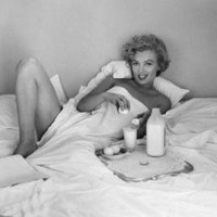 Marilyn Monroe  Breakfast in Bed Poster