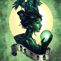 WICKED Art Print by Tim Shumate | Society6