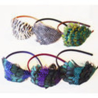 Feather Headbands by Pluma