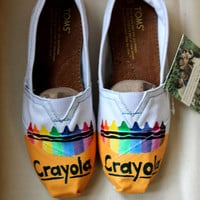 Crayola Crayon TOMS