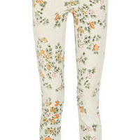 Citizens of Humanity | Mandy printed high-waisted straight-leg jeans | NET-A-PORTER.COM
