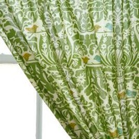 Woodside Block Print Curtain