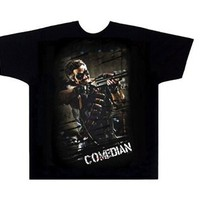 Watchmen Comedian Textured Adult T-Shirt
