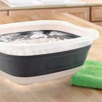 Collapsible Utility Tub, Folding Tub | Solutions