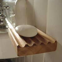 $23.00 Unique wooden wall mountable soap dish by andrewsreclaimed on Etsy