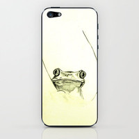 Treefrog iPhone & iPod Skin by Eric Whitaker