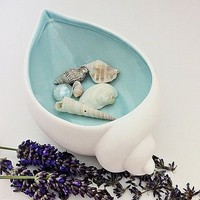 cockle shell dish by big little house | notonthehighstreet.com