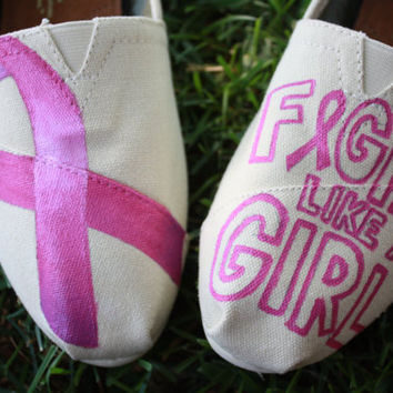 Breast Cancer Awareness Pink Ribbon Fight by SomethingFromTheSun