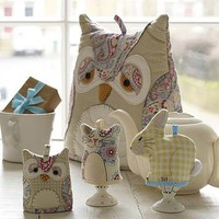 handmade egg & tea cosies - mix & match by ulster weavers | notonthehighstreet.com