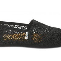 Black Crochet Women&#x27;s Classics