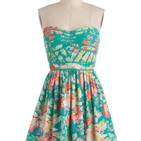 Lush with Beauty Dress | Mod Retro Vintage Dresses | ModCloth.com