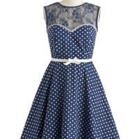 A Dot to Love Dress | Mod Retro Vintage Dresses | ModCloth.com