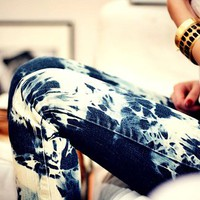 Tie-Dye Jeggings from ShopWunderlust