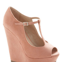ModCloth Pastel It Malt Be Love Wedge