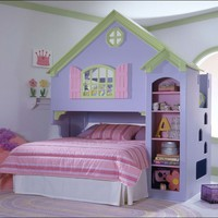 Tradewins Doll House Wood Loft Bunk Bed