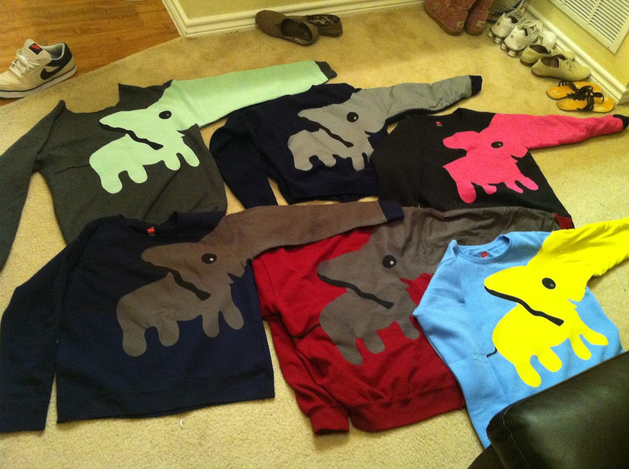 Custom Elephant Sweatshirt