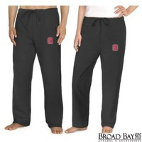 Amazon.com: NC State Scrubs Pants Bottoms NC State Wolfpack For HIM or HER - DRAWSTRING Waist - Official NCAA College Logo Apparel SEARCH BROAD BAY SCRUB FOR OTHER College Logo Apparel Unique GIFT Ideas: Clothing