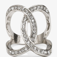 Rhinestoned Loop Ring | FOREVER 21 - 1034988366