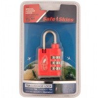 Flight 001 |  Safe Skies Tsa Combo Lock - Essentials - All Products