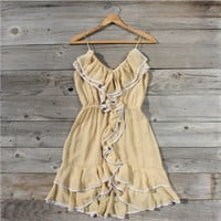 Buttercream Ruffle Dress