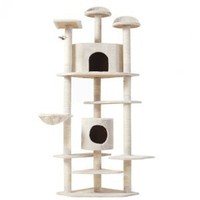 "New 80"" ""The Tabby"" Cat NapTM Cat Tree Condo Pet Furniture Scratching Post Pet House Premium Quality"