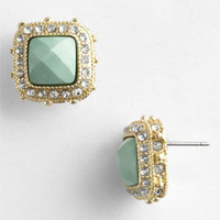 BP. Rhinestone Frame Post Earrings | Nordstrom