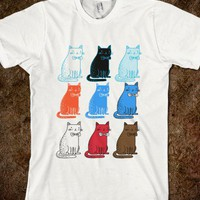 a lot of cats - nixelpixel's awesome shop