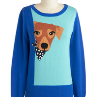 You Lucky Dog Sweater | Mod Retro Vintage Sweaters | ModCloth.com