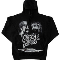 Cheech and Chong Up in Smoke Hoodie Sweatshirt Sweater Weed Marijuana Men Women