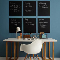 chalkboard wall graphic by caroline mcgrath | notonthehighstreet.com