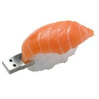 1GB Salmon Sushi USB Drive - So real you get hungry!!
