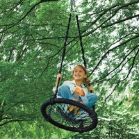 Amazon.com: Round-and-Round Outdoor Swing: Toys &amp; Games