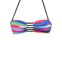 dELiAs > Reef Abstract Stripe Bandeau Top >