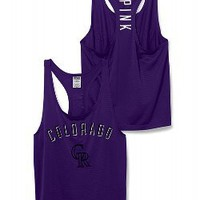 Colorado Rockies Mesh Racerback Tank - PINK - Victoria's Secret