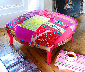 pushkar footstool by couch gb | notonthehighstreet.com