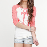 Roxy Sturdy Anchor Raglan Tee at PacSun.com