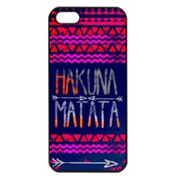 HAKUNA MATATA Apple iPhone 5 Case