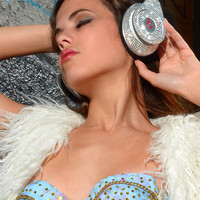 Dirty Addiction Swarovski Rhinestoned Beats by Dr by PurpleLobster