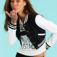 Cropped Varsity Jacket
