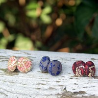Fabric Button Stud Mix