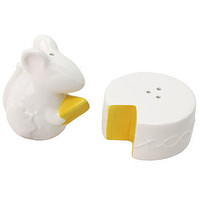 Mouse and Cheese Salt & Pepper Shaker