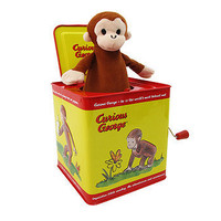 Curious George Musical Jack In The Box