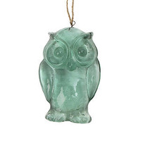 Recyled Glass Owl