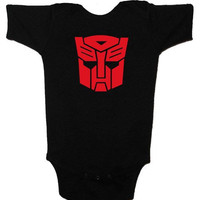 Transformers Autobots Child's Infant or Toddler One-Piece Lap Tee or T-Shirt 6mos, 12mos, 18mos, 24mos, 2T, 3T, 4T