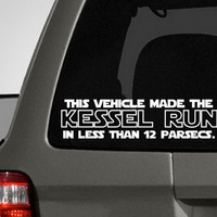 Car Vinyl Decal This Vehicle Made the by CuttinUpCustomDieCut