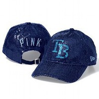 Tampa Bay Rays Bling Baseball Hat - PINK - Victoria's Secret