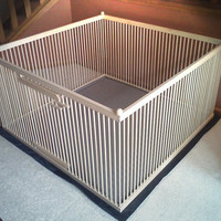 "A Distinctive ""Home within a Home"" Exercise Pen - READY-to-FINISH Solid MAPLE w/Floor"